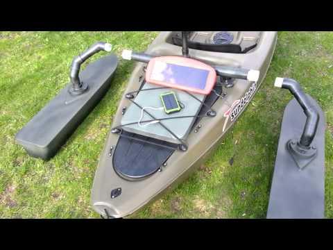 Custom Fiberglass Kayak Outriggers/Pontoons pt5