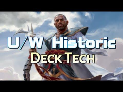 Mtg Deck Tech: U/W Historic (The Deck to Beat in Dominaria Standard?)