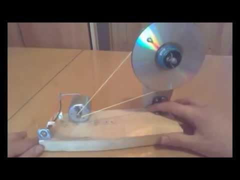видео: Простейший генератор из cd моторчика