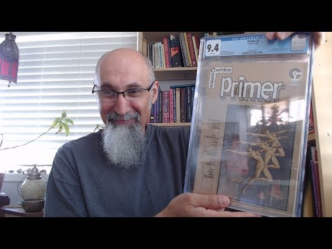 Comic Book Haul: Comico Primer #5, CGC 9.4, NM, 1983, 1st Appearance of The Maxx by Sam Kieth [ASMR]