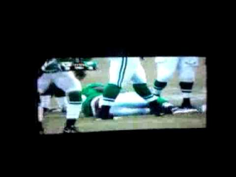 Leonard Weaver left knee sprain 9/12/2010