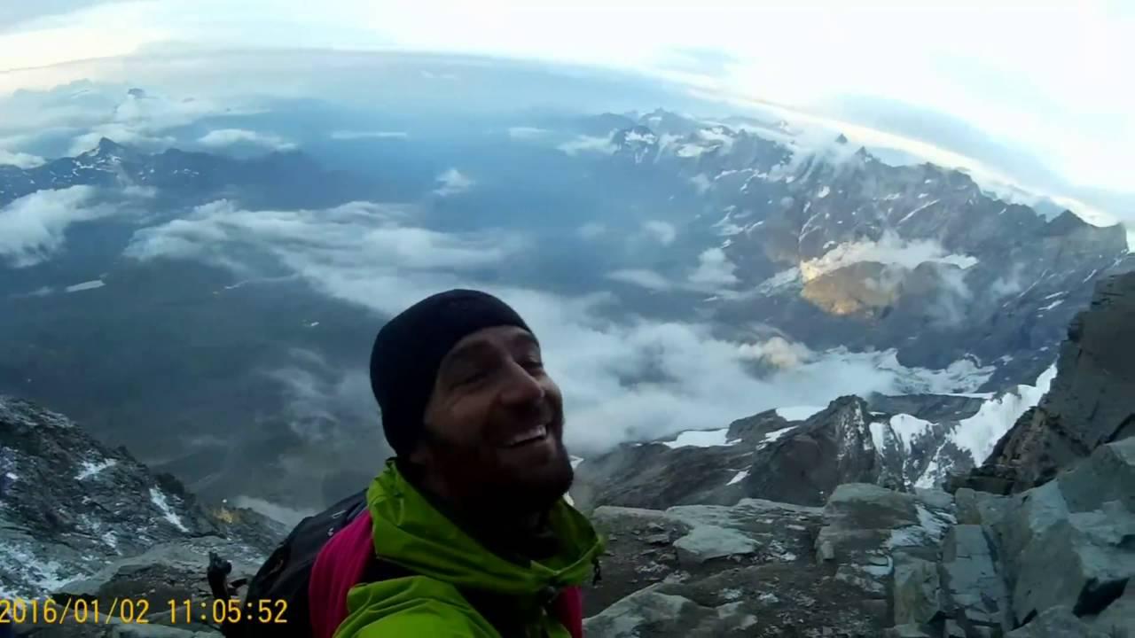 Matterhorn 4478m Traverse from Lion to Hornli 2016
