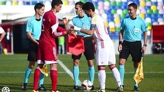 U19 Georgia v Spain 0:3