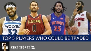 NBA Trade Rumors: Top 5 Players That Could Be Traded Before The NBA Trade Deadline Feat. Kevin Love