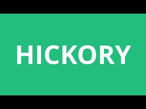 How To Pronounce Hickory - Pronunciation Academy