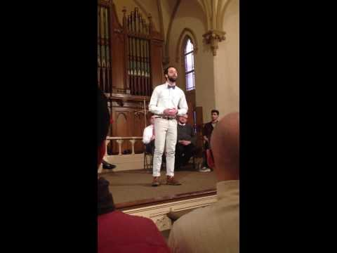 All of Me - John Legend performed by Will Matheny, PGMC