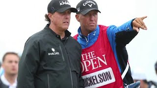 Phil Mickelson's ex-caddy 'Bones' picks Spieth in Open Championship