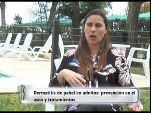 DRA GOMEZ,  dermatologa:  dermatitis de pañal en adultos