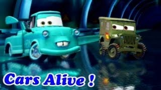 CARS ALIVE ! Cars 2 gameplay - All DLC Characters from cars 2 video game 2015
