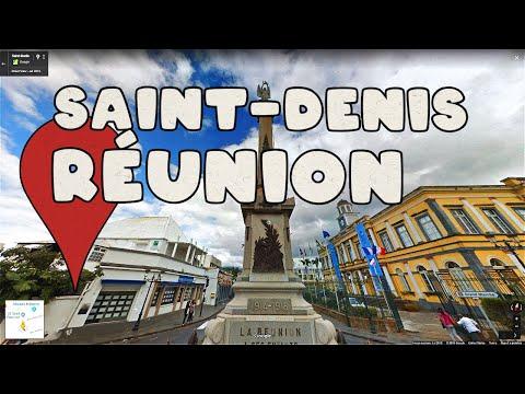Let's take a virtual tour of Saint-Denis, Réunion!