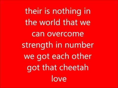 cheetah love lyrics