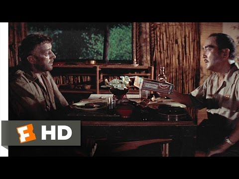 The Bridge on the River Kwai 28 Movie   Dinner with Saito 1957 HD