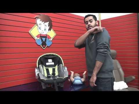 Baby Trend Ez Flex Loc : Adjust Harness Height