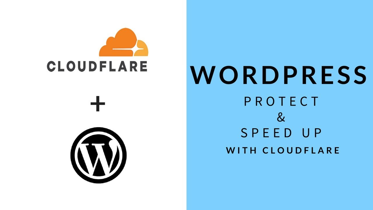 Protect and Speed Up WordPress websites