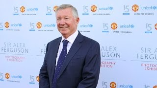 sir alex ferguson united4unicef photography exhibition and charity auction