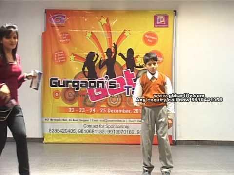 Gurgaon's Got Talent 3: Auditions @ St.PBN Public School Part 2