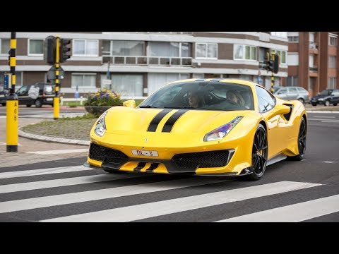 Ferrari 488 Pista - Acceleration Sounds !