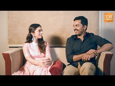 Kaatru Veliyidai with Karthi and Aditi