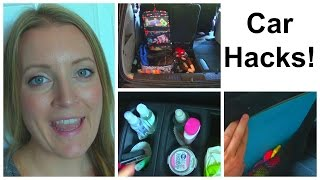 Mom Car Hacks! - Pinterest Inspired