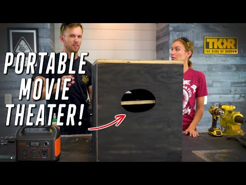Can We Make a Portable Movie Theater?