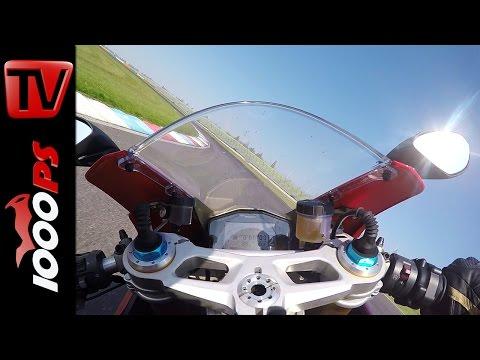 Ducati 1299 Panigale S Onboard | Superbike Vergleichstest 2015