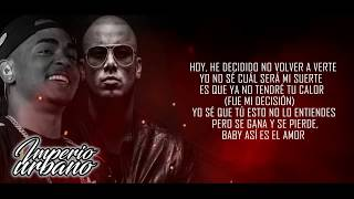 Wisin Ft Ozuna - Quisiera Alejarme [LETRA // LYRICS]