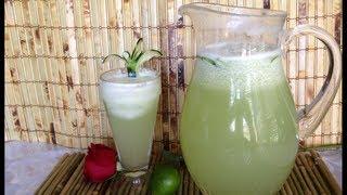 Agua De Pepino Fresca   Deliciosa Receta