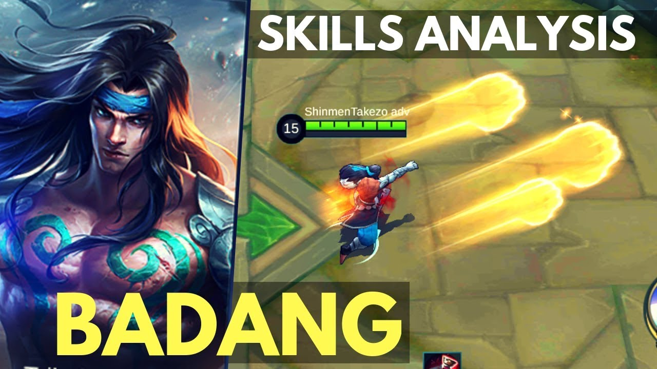 BADANG : NEW FIGHTER HERO SKILL AND ABILITY EXPLAINED | Mobile Legends