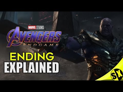 Avengers End Game Ending Explained ? What Happened | Hindi | Super Xpose
