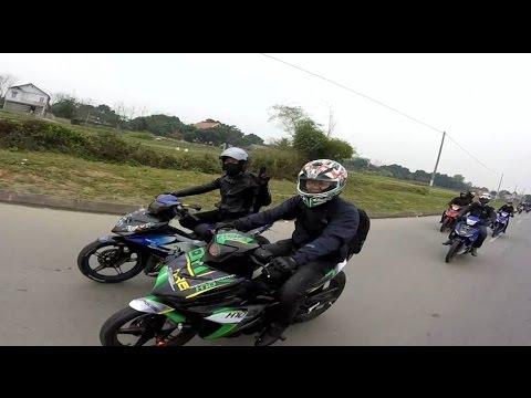 Exciter 150 Touring & Phượt Hà Nội - Tây Thiên khai xuân 2016