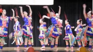 嘉諾撒小學(新蒲崗)2015綜藝晚會 吉宇鳥中國舞蹈表演