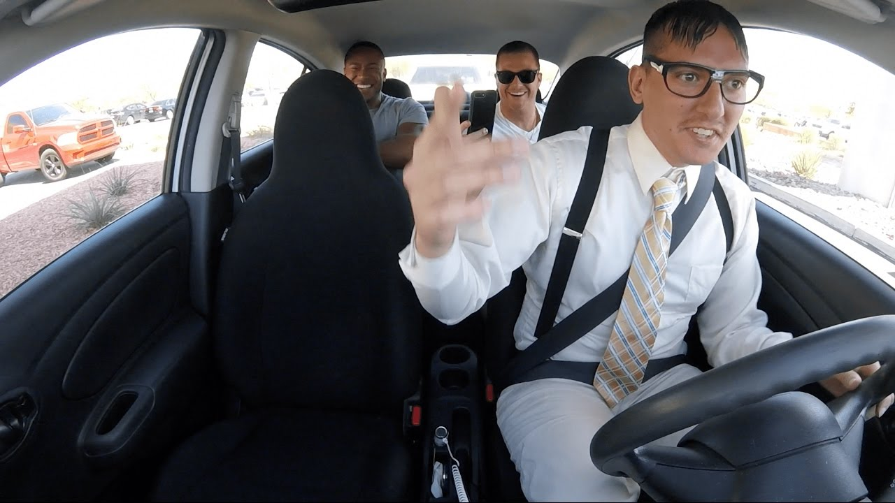 Nerdy Uber Driver Blows Passengers Away With His Mad Rapping Skills