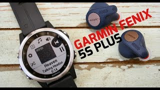 Review/análisis del mejor reloj deportivo: Garmin Fenix 5S Plus