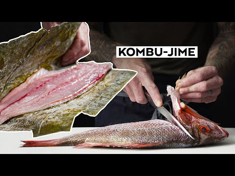 CURING FISH With SEAWEED - How To Cure Fish With Kombu
