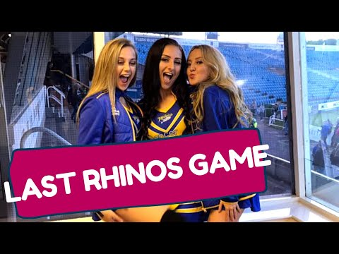 ZF Dance Diary #2 – My Last Game for Leeds Rhinos Rugby – Spencer Properties Dance Team!