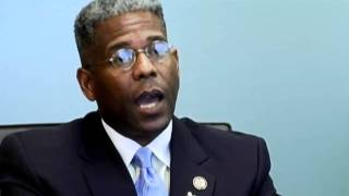 Republican Allen West FL. Congressman meets with Tripp Scott President, Ed Pozzuoli