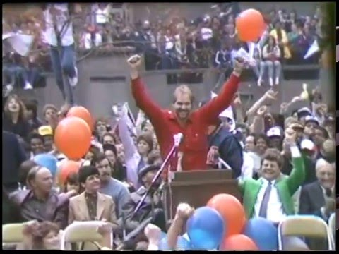 Detroit Tigers 1984 World Series Victory Parade And Rally, Tape 2