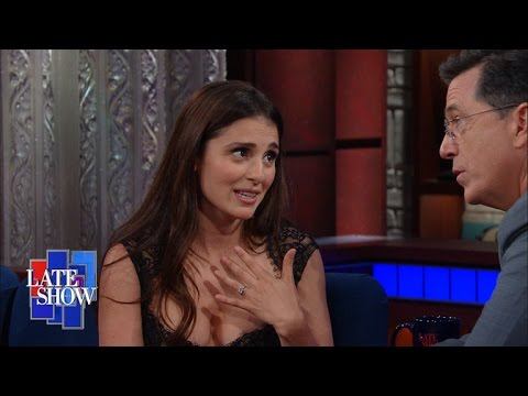 Shiri Appleby Tells Stephen What Jon Stewart Said About Him