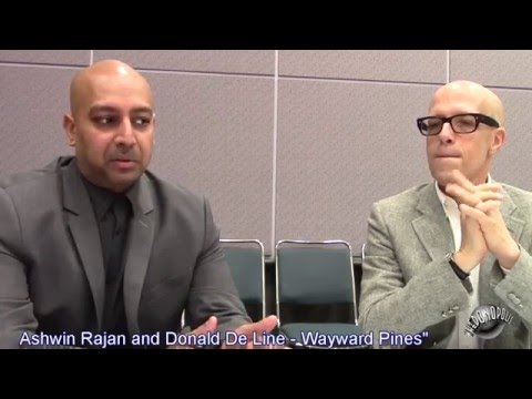 WonderCon 2016: Wayward Pines: Ashwin Rajan and Donald De Line fragman