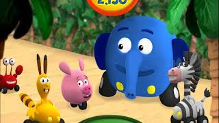 Colorful game - animal coconut parade cartoon for kids