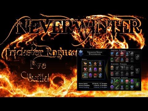 Neverwinter - Lvl 70 Trickster Rogue WK Exec/Saboteur PVE build