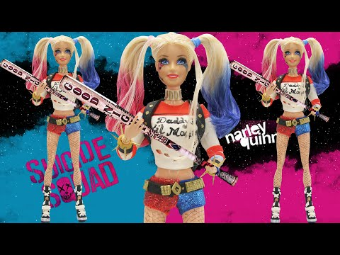 "Thumbnail: Play Doh Barbie ""Harley Quinn"" "" Suicide Squad"" Inspired Costume"