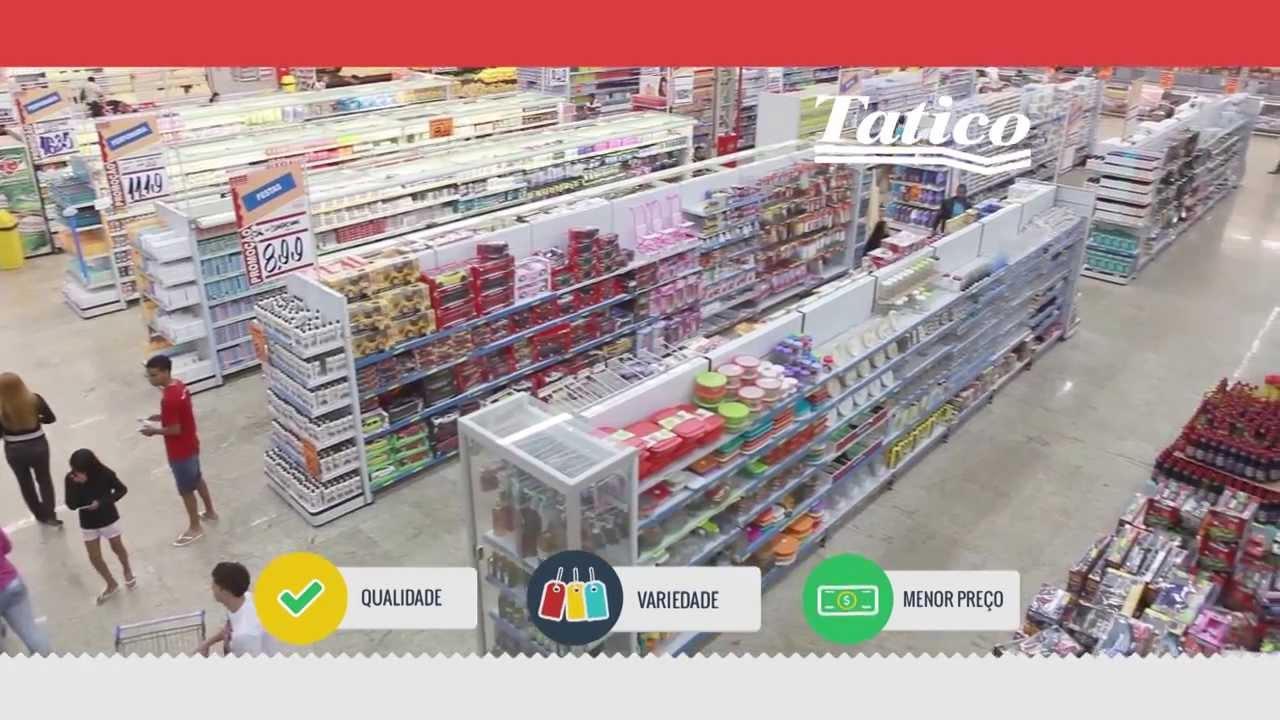 0cfdee645 Supermercado Tatico - Barato todo dia - YouTube