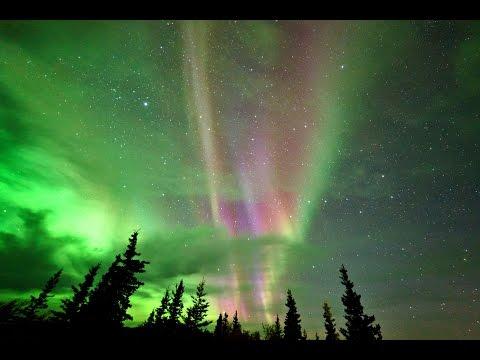 Aurora borealis at Denali National Park, Alaska