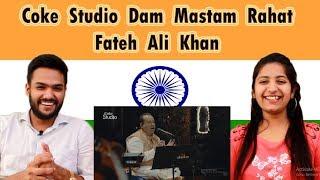 Indian Reaction on Pakistan Coke Studio | Dam Mastam Song | Rahat Fateh Ali Khan | Swaggy d