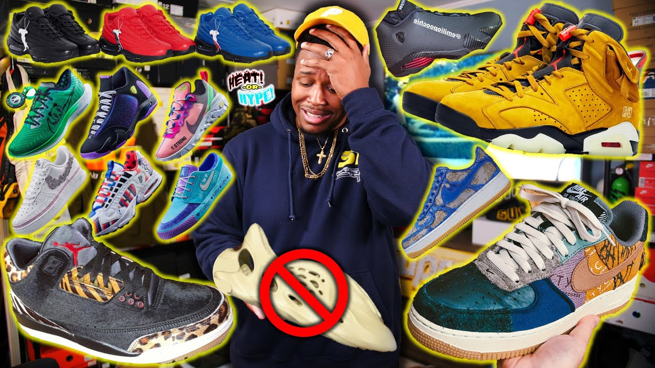 Download WTF ARE THESE!? UPCOMING 2019/2020 SNEAKER RELEASES! YEEZY CROCS, TRAVIS SCOTT AF1, SUPREME NIKE & ?
