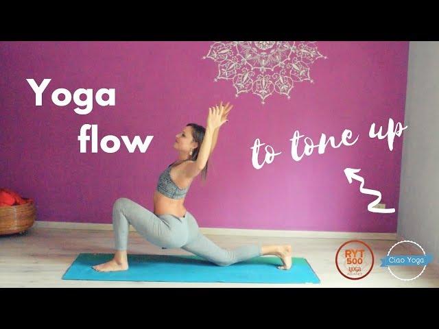 Yoga flow per tonificare e il primo Ciao Yoga #FOLLOWIN!
