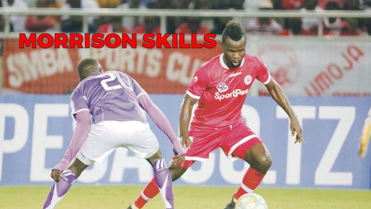 Download WEKA BANDO! Huyu Morrison wa Simba tema mate chini: Tazama chenga, goli, assist dhidi ya Vital'O