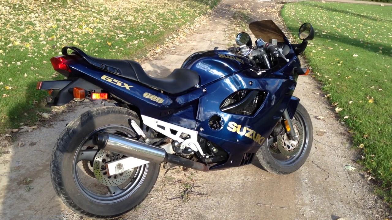 1993 Suzuki Gsx600f Katana