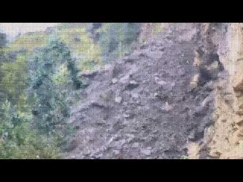 Llata Huamalies - Huayco en vivo carretera huanuco llata